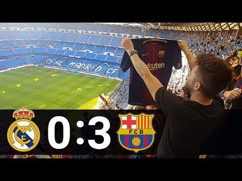 REAL MADRID – BARCELONA 0:3 | REACTION AT BERNABEU | 23.12.2017 | EL CLASICO