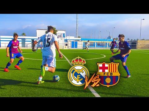 REAL MADRID VS BARCELONA *EL CLÁSICO* PARTIDO FÚTBOL