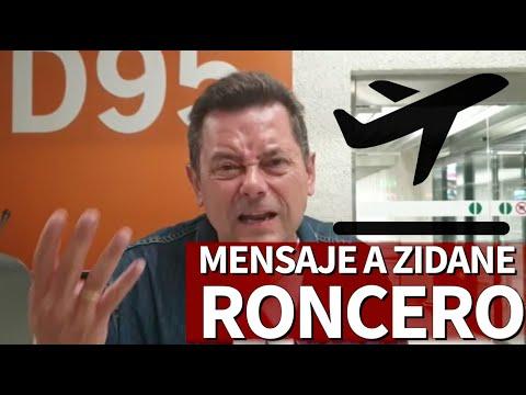 Roma 2 – R. Madrid 2   El mensaje directo de Roncero a Zidane desde el aeropuerto   Diario AS