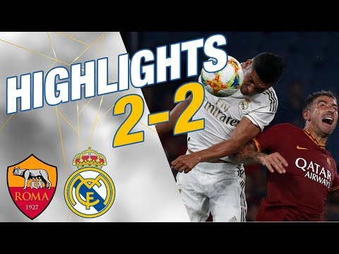 GOALS & HIGHLIGHTS | Roma 2-2 Real Madrid