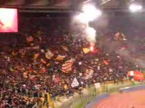 As Roma-Real Madrid octavos Champios himno