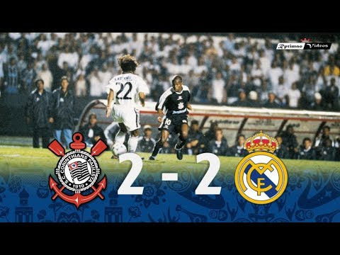 Corinthians 2 x 2 Real Madrid ● 2000 FIFA Club World Cup Goals & Highlights