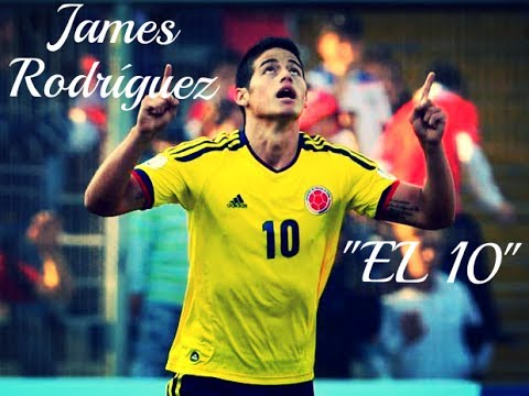 "James Rodríguez | ""El 10"" Goals & Skills 2014 Real Madrid New Star & World Cup's Best Player"