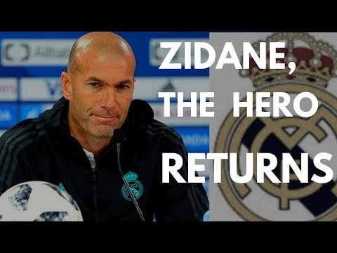 Zidane gets back to Real Madrid