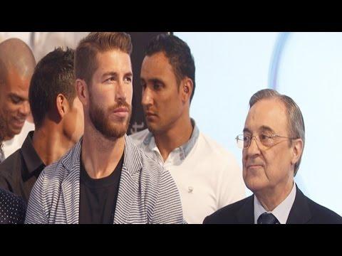 Reunion en China entre Sergio Ramos – Florentino Perez ◉ Real Madrid ◉ 2015