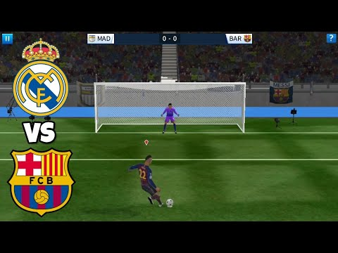 Real Madrid VS Barcelona ● Penalty Shootout ● Dream League Soccer 2018