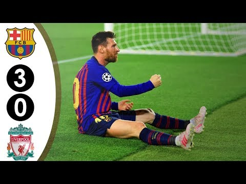 Barcelona vs Liverpool 3-0 UCL 2018/2019 Full Highlights HD