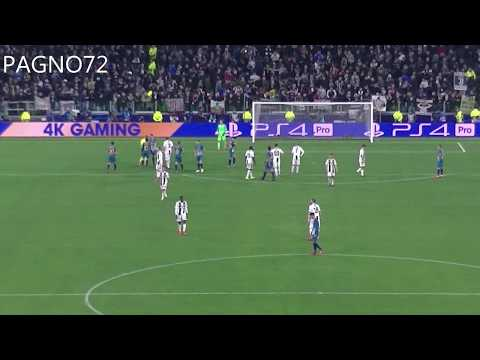 JUVENTUS Vs Atletico Madrid  Penalty Kick C.Ronaldo 3-0