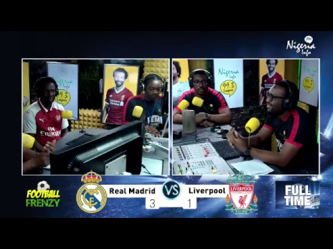 Real Madrid v Liverpool – Champions League Final 2018 Live Commentary