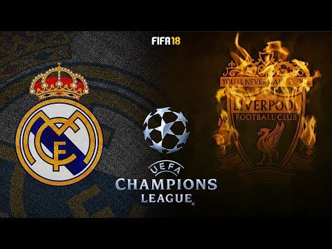 FIFA 18 | Real Madrid vs Liverpool | UEFA Champions League Final 2018 Highlights & Goals | Gameplay