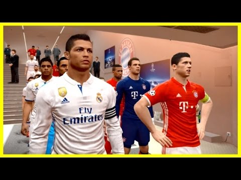 PES 2017 | BAYERN MUNICH VS REAL MADRID | UEFA Champions League Quarter Final | Gameplay PC
