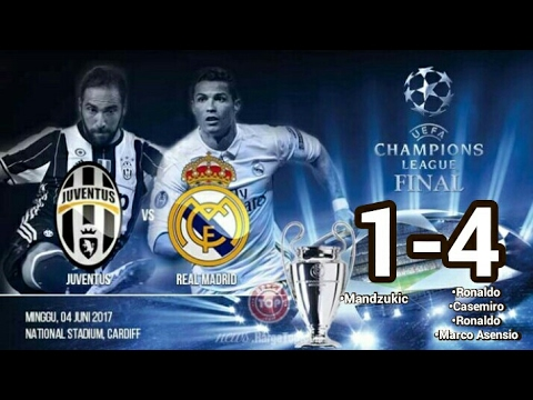 Juventus vs Real Madrid 1-4 Final Liga Champion • Final Champion Edition