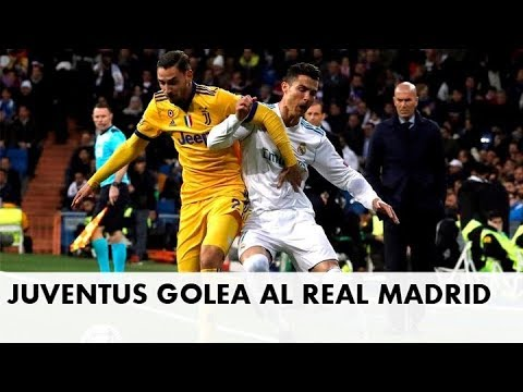 Juventus GOLEA AL Real Madrid  CRISTIANO RONALDO PIERDE JUVENTUS VS REAL MADRID