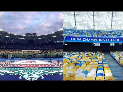 Persiapan Stadion NSC Olympisky Jelang Final Liga Champions 2018! Real Madrid VS Liverpool FC