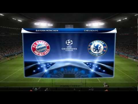 Champions League Final 2012 – Bayern München vs Chelsea FC [PES 2012 edit]