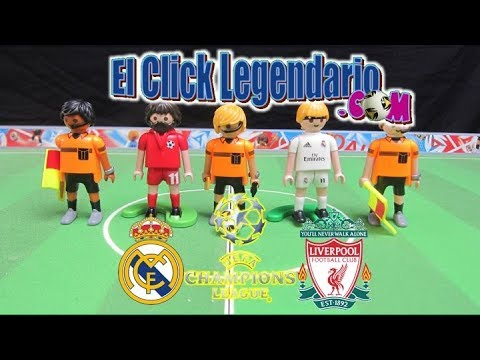 ⚽⚽Champions League Final 2018 • Real Madrid vs Liverpool • Playmobil,  NO Lego
