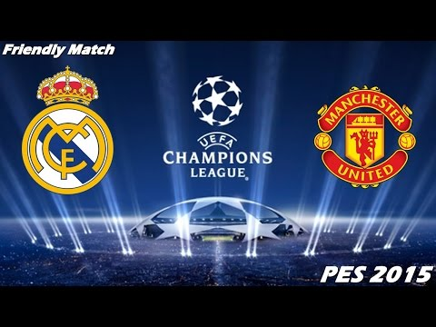 PES 2015 Gameplay (PC) – Real Madrid vs Manchester United