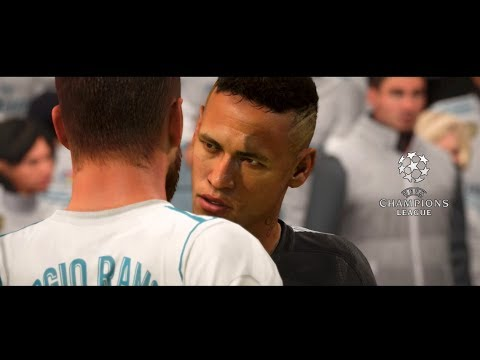 FIFA 18 Cinematic: REAL MADRID VS PSG |UEFA Champions League 2018| by Pirelli7