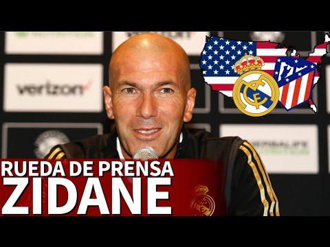 ICC: Real Madrid – Atlético | Rueda de prensa de Zidane | Diario As