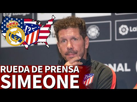 ICC: Real Madrid – Atlético | Rueda de prensa de Simeone | Diario AS