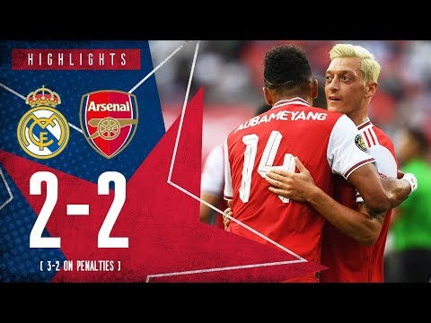 HIGHLIGHTS: Real Madrid 2-2 Arsenal | 3-2 on penalties | ICC 2019