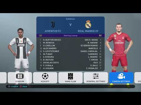 PES 2019 Live Stream Gameplay – Juventus vs Real Madrid – PSG vs Chelsea – Rangers vs Celtic