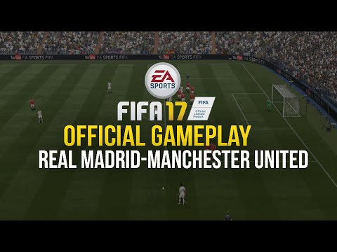 FIFA 17 -REAL MADRID Vs MANCHESTER UNITED  NEXT GEN HD