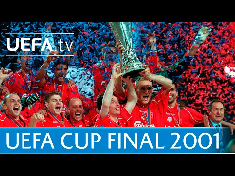 2001 UEFA Cup final highlights – Liverpool-Alaves