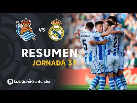 Resumen de Real Sociedad vs Real Madrid (3-1)