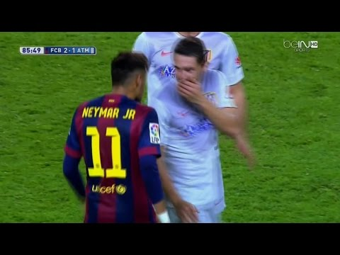 Neymar vs Atletico Madrid Home English Commentary HD 720p (11/01/2015) by 1900FCBFreak