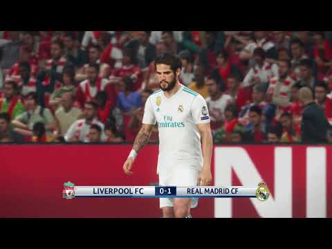 PES 2018 Liverpool Vs Real Madrid | UEFA Champion |#Pheak TKP