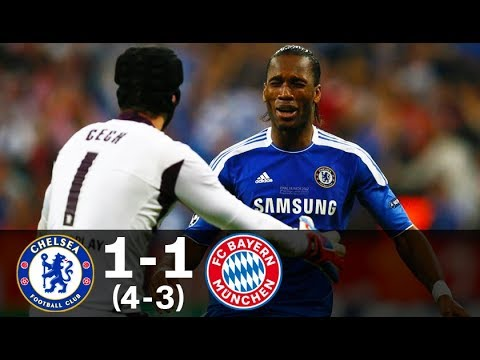 Chelsea vs Bayern Munich 1-1 (4-3) UCL Final 2012 – Full Highlights HD