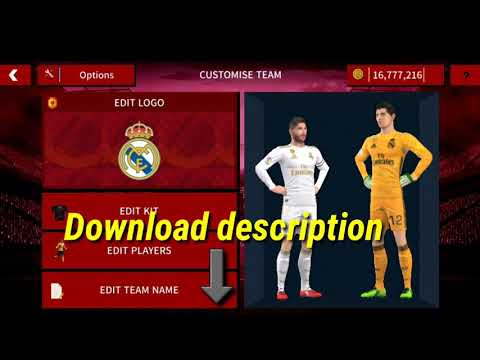 Dream league soccer 2020 real Madrid kits