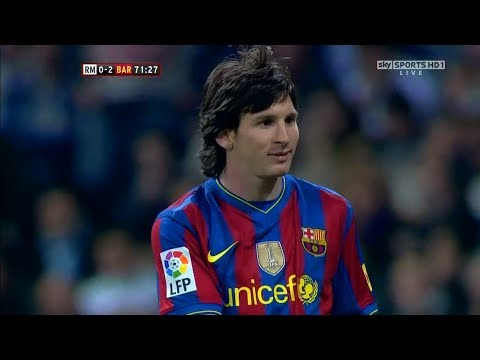 Messi Vs Real Madrid (A) 2009/10 – English Commentary HD 720p
