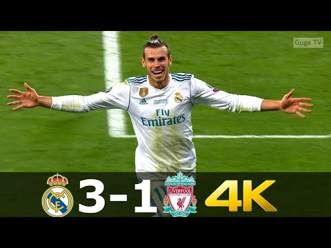 Real Madrid vs Liverpool 3-1 – UCL Final 2018 UHD 4k
