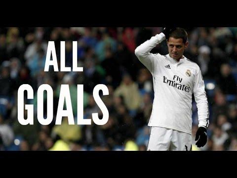 Javier Hernandez – All Goals for Real Madrid 2014/15