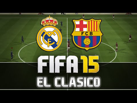 Fifa 15 | Real Madrid vs. FC Barcelona – El Clasico | FULL Gameplay | by PatrickHDxGaming