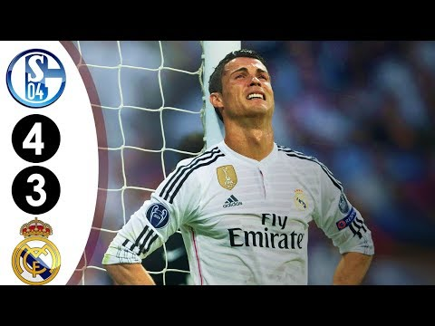 Real Madrid vs Schalke 3-4 UCL 2014/2015 Full Highlights HD