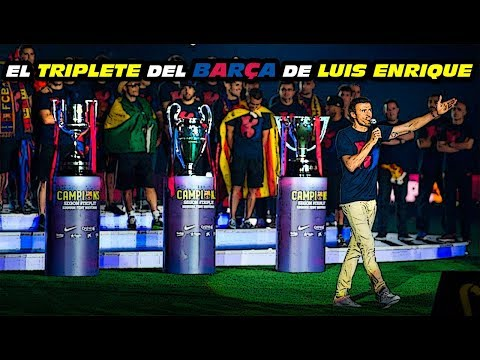 El TRIPLETE 🏆🏆🏆del BARCELONA de LUIS ENRIQUE (2014/2015)