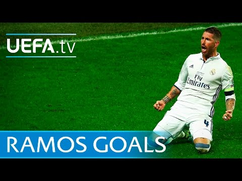 Sergio Ramos: 5 memorable goals