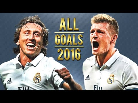 Luka Modric & Toni Kroos – All Goals for Real Madrid | 2016 | HD