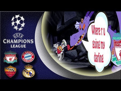 Champions League Semi Final 1st leg compilation ( Liverpool VS Roma – Bayern VS Real Madrid )