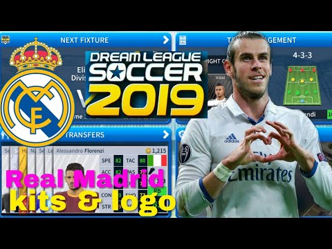 Dream League Soccer 2019 | How To Create Real Madrid Team 2019 Kits and Logo