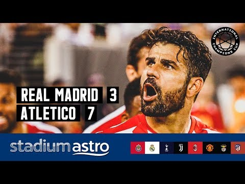 Real Madrid 3 – 7 Atletico Madrid | ICC 2019 Highlights | Astro SuperSport