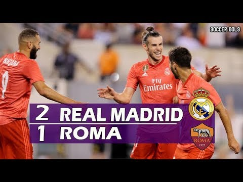 Real Madrid 2 x 1 Roma – Melhores Momentos (HD) – Champions Cup 07/08/2018