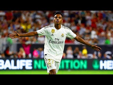Rodrygo debut vs Bayern Munich – Goals & Skills 2019