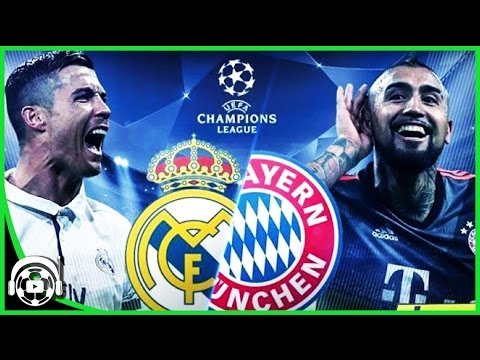 Real Madrid vs Bayern Munich audio en vivo 2