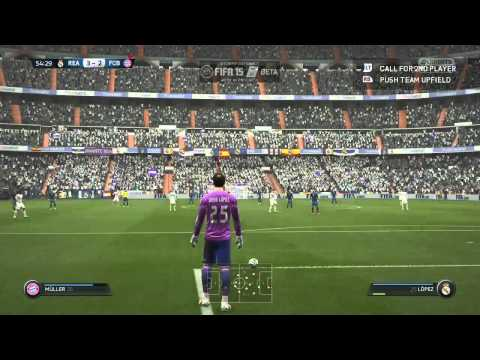 Fifa 15 Gameplay Closed Beta Real Madrid vs Bayern Munich PS4 Xbox One PC