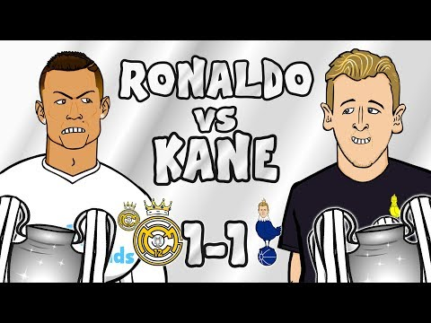 🎙️RONALDO vs KANE🎙️Real Madrid vs Tottenham 1-1 (Champions League Parody 2017)
