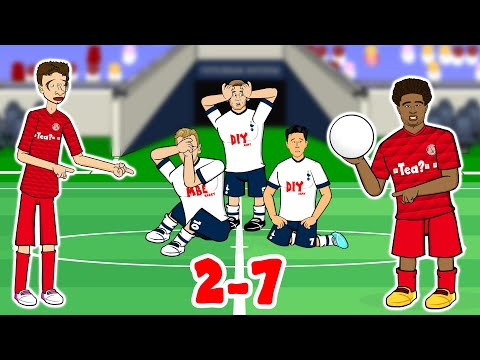 🤯Spurs 2-7 Bayern Munich🤯 Champions League 2019 Song Parody (Gnabry 4 goals!)